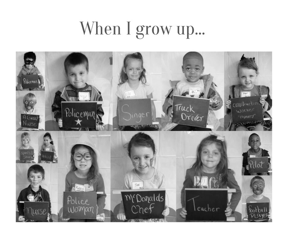 When I Grow Up... Picture Set
