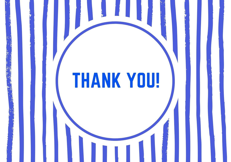 Thank You Stripes