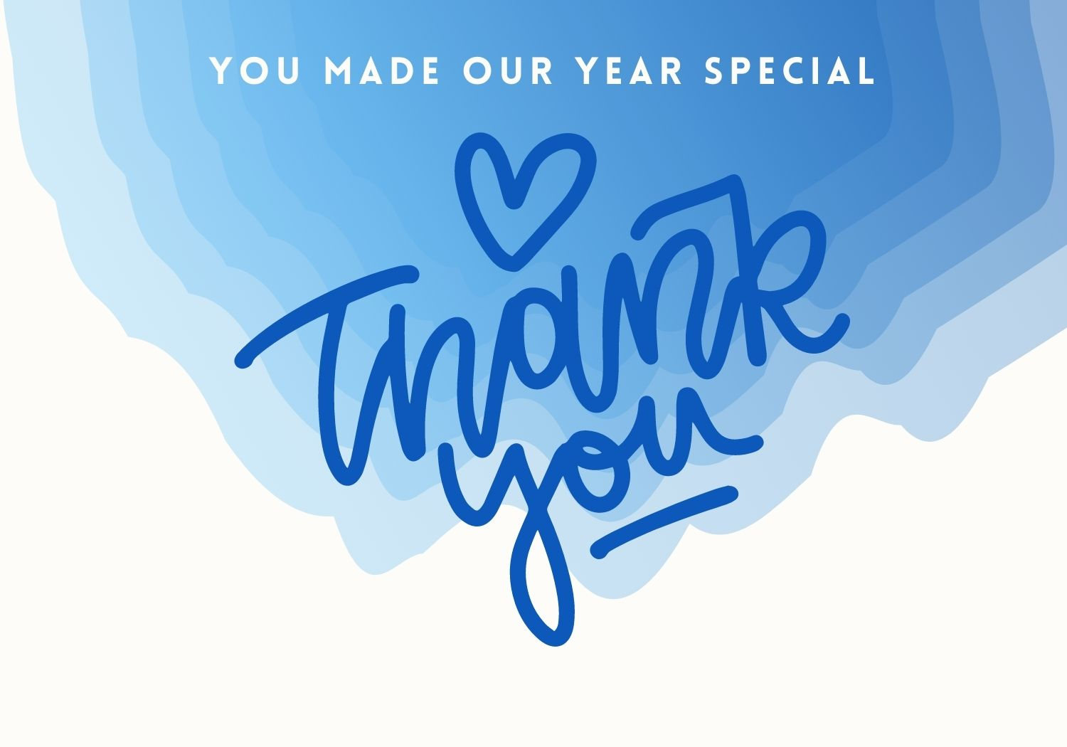 You Made Our Year Special
