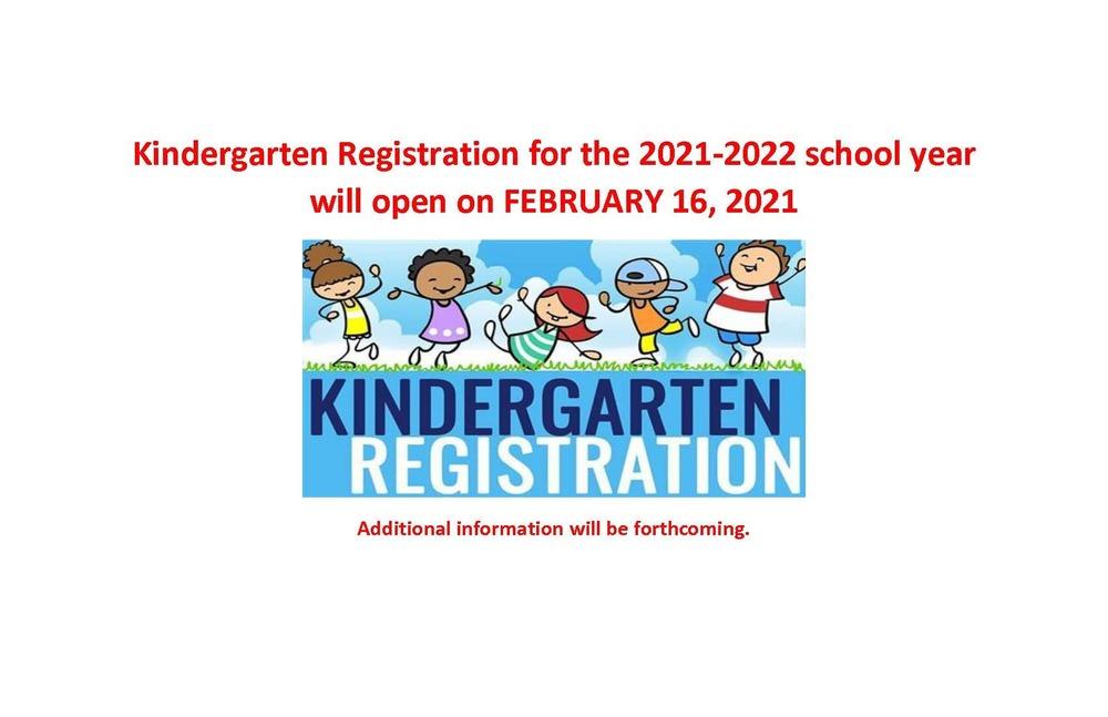 Registration Dates open February 16 2021