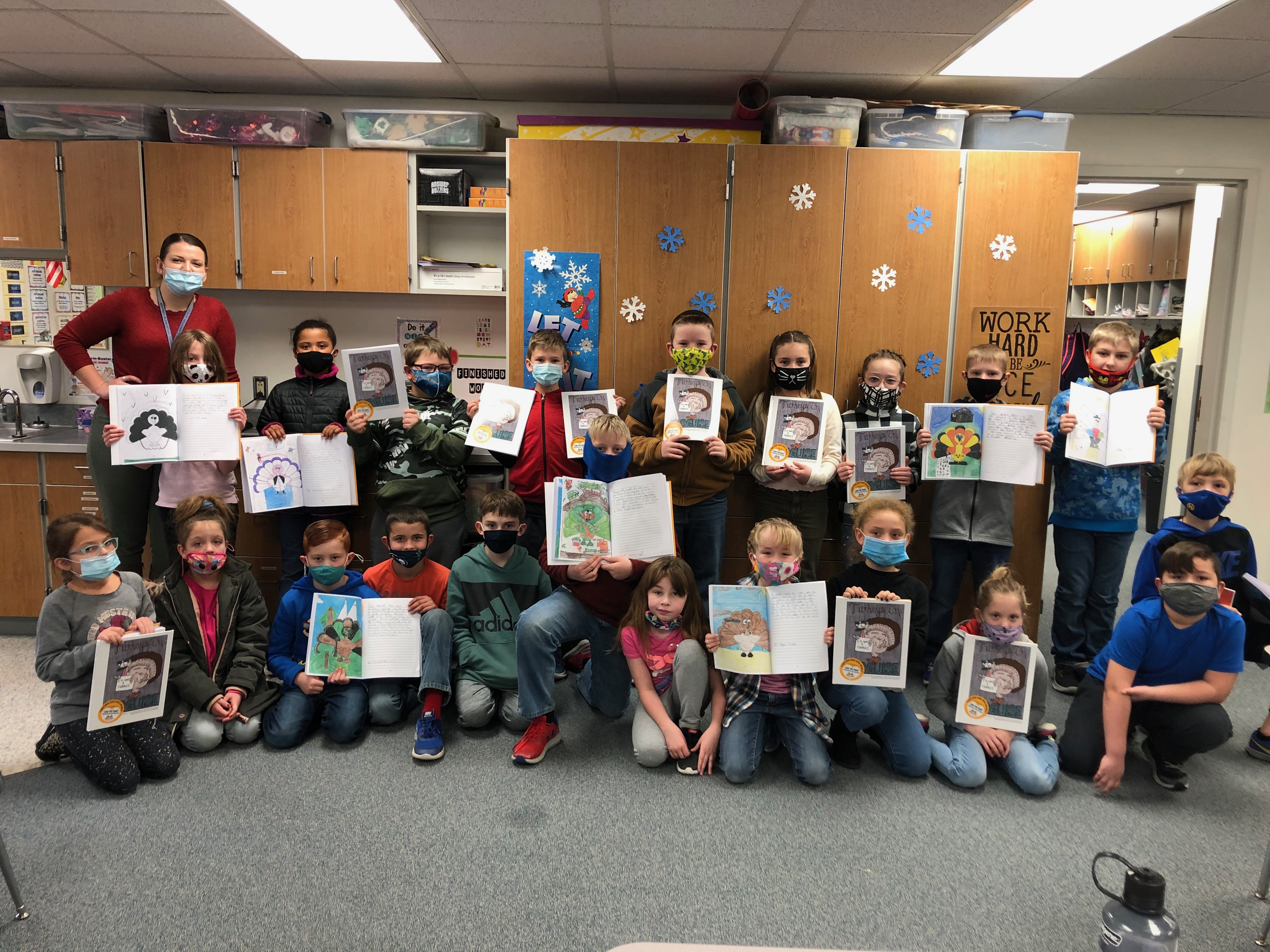 3rd Grade students become published authors!