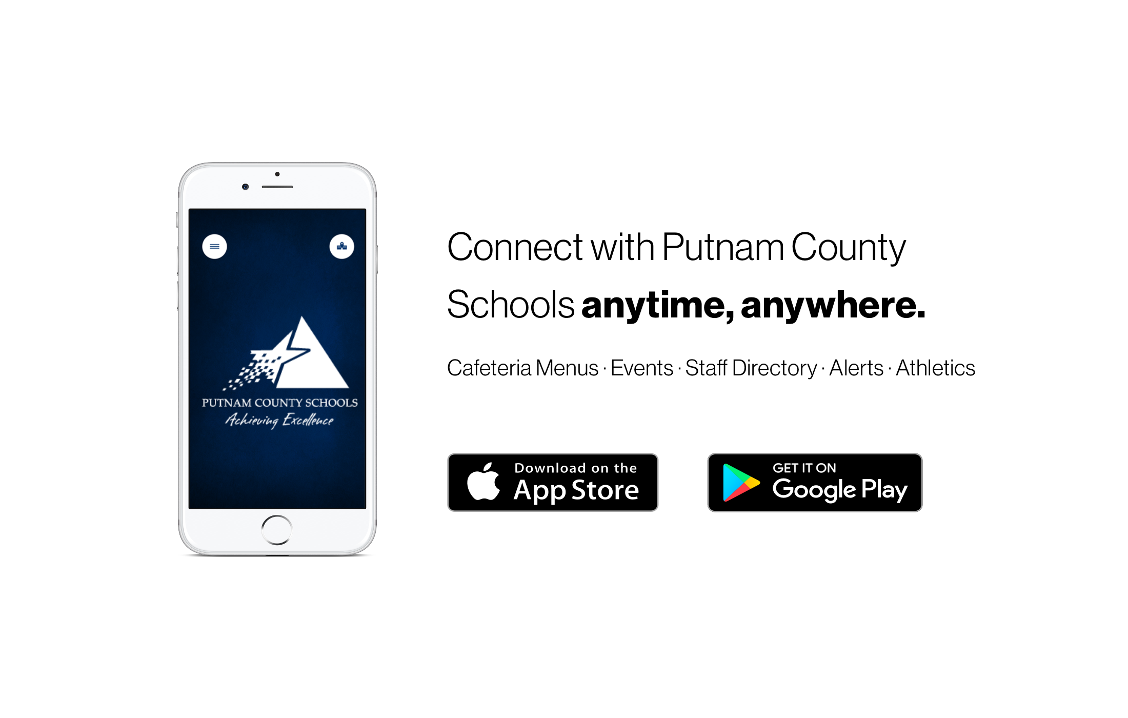 Download the PCS Connect app from the Apple App Store or the Google Play Store.