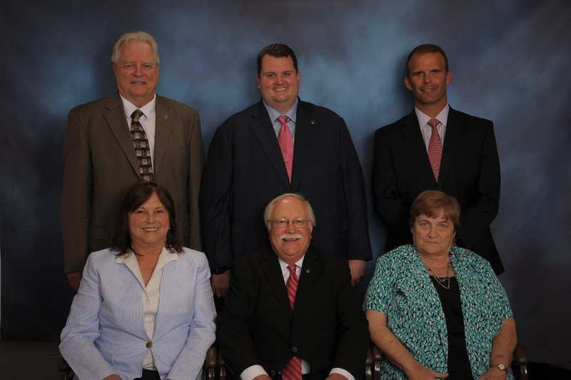 Photo of the BOARD OF EDUCATION MEMBERS.
