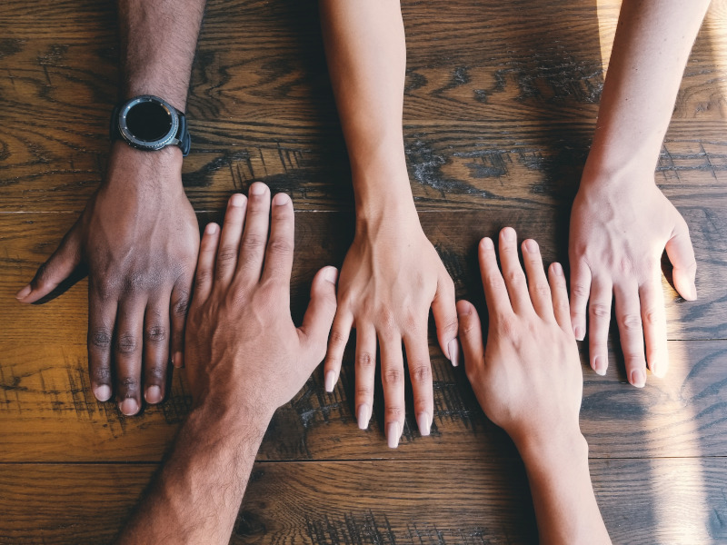 Photo representing human diversity.