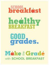 SCHOOL BREAKFAST - HEALTHY BREAKFAST - GOOD GRADES