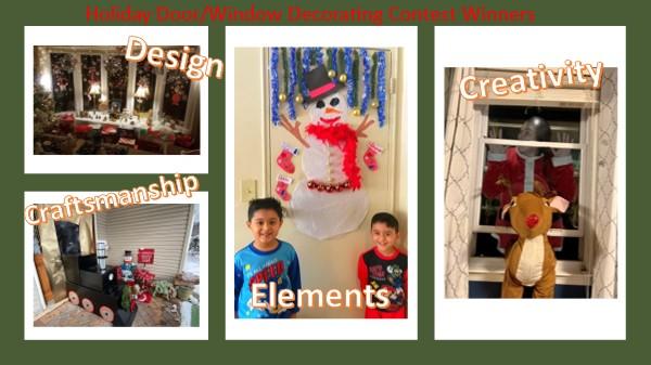 Door/Window Decorating Contest Winners