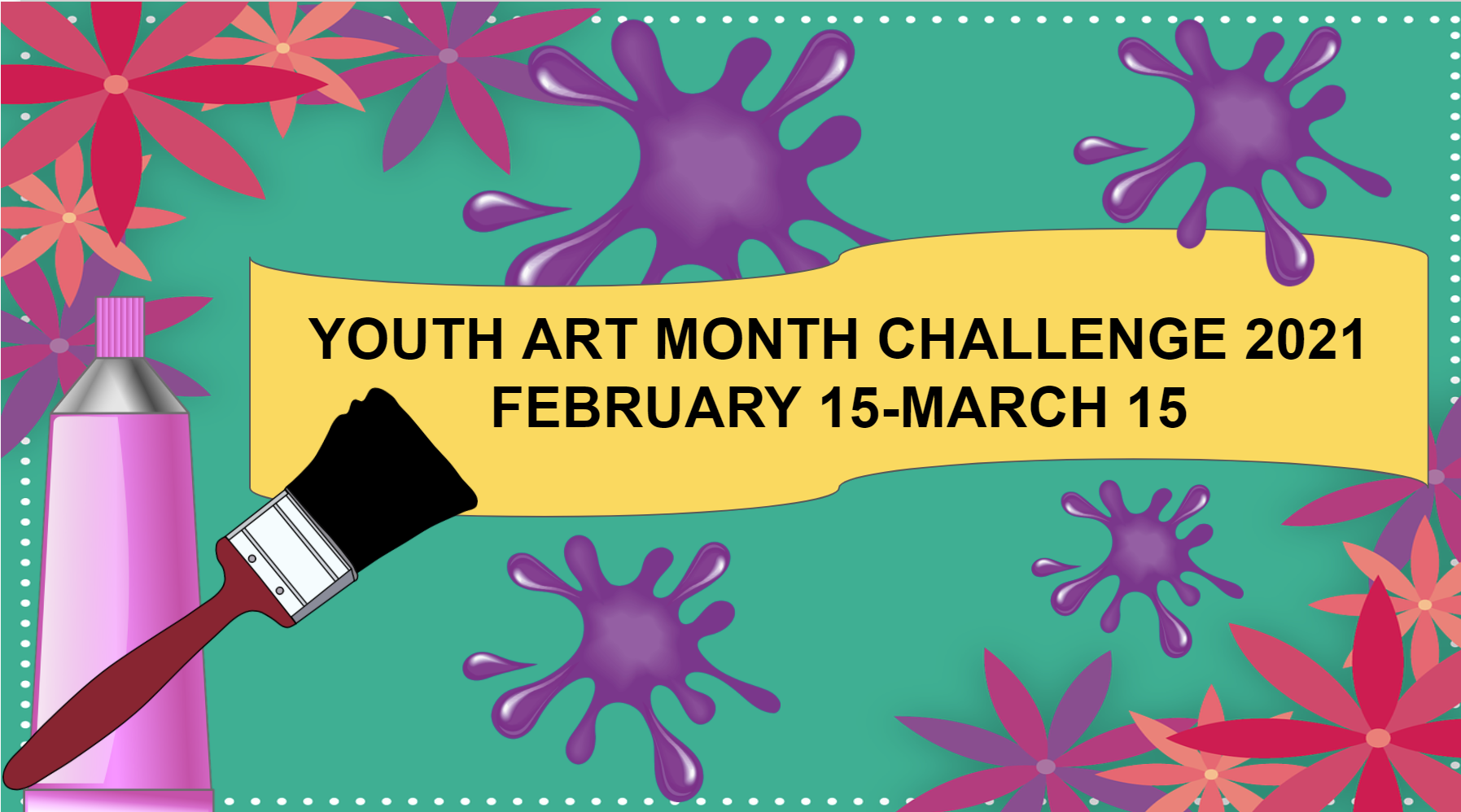 Youth Art Month Image