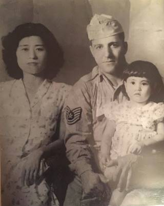 my mother and grand parents