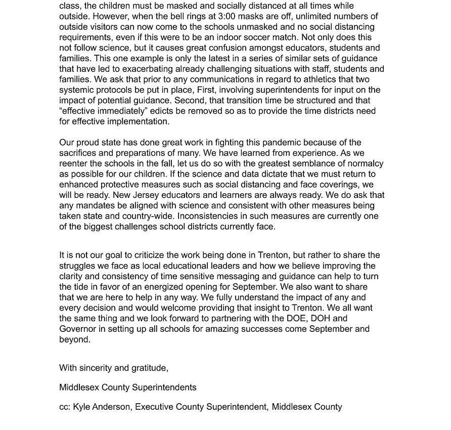 Middlesex Cnty Letter page 2
