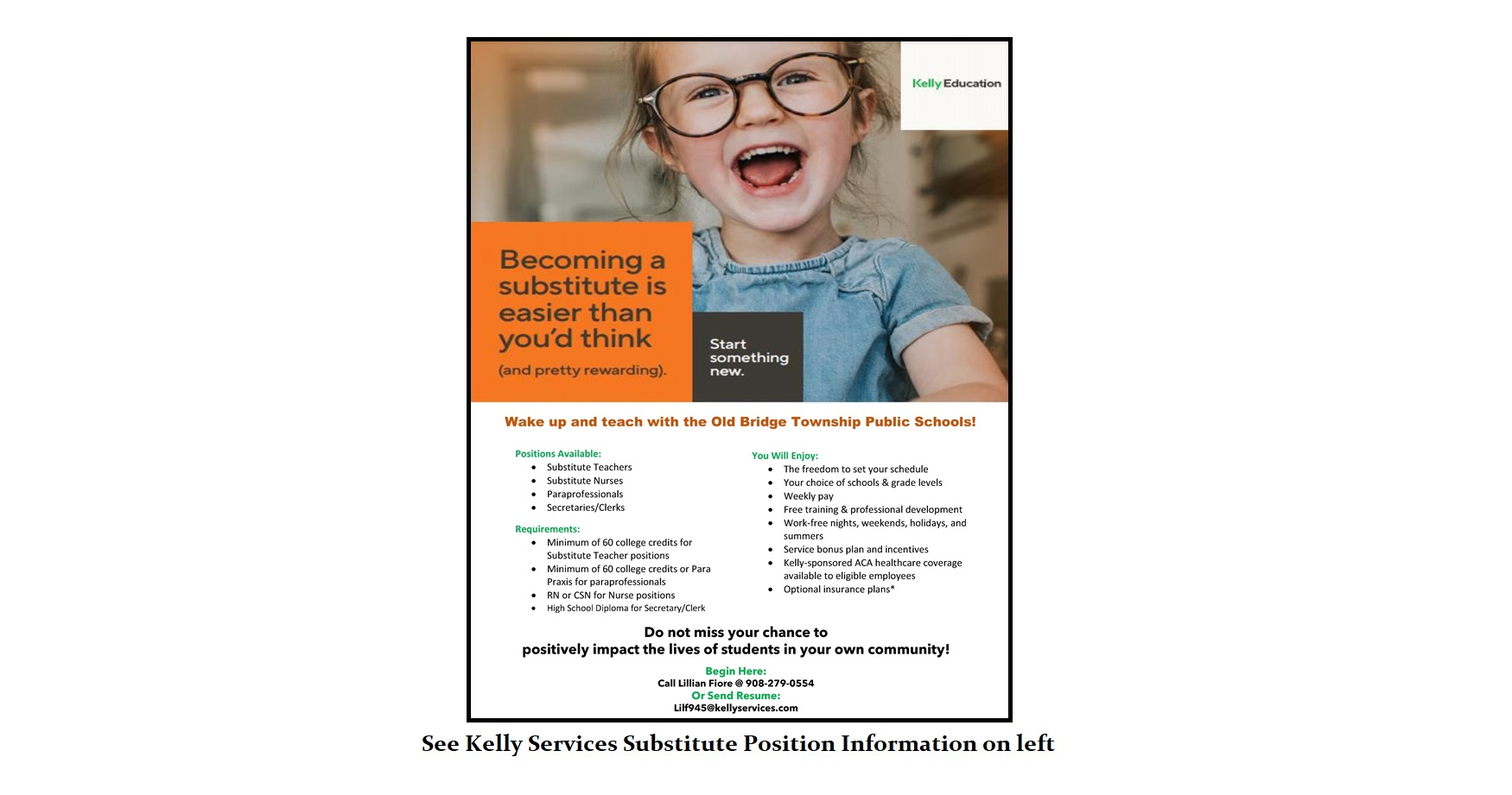 kelly services flyer