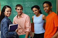 Stock photo of students