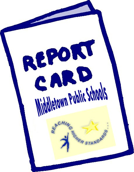 An image with a Report Card - Middletown Public Schools.