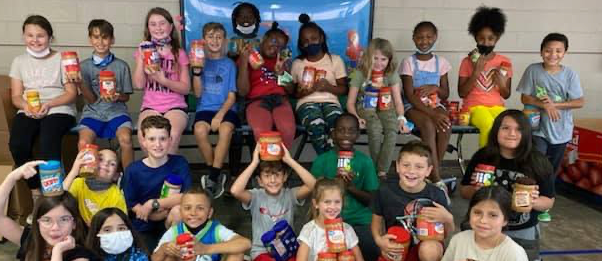 Mrs. Holland's Class Earns 1st Place in Peanut Butter Drive