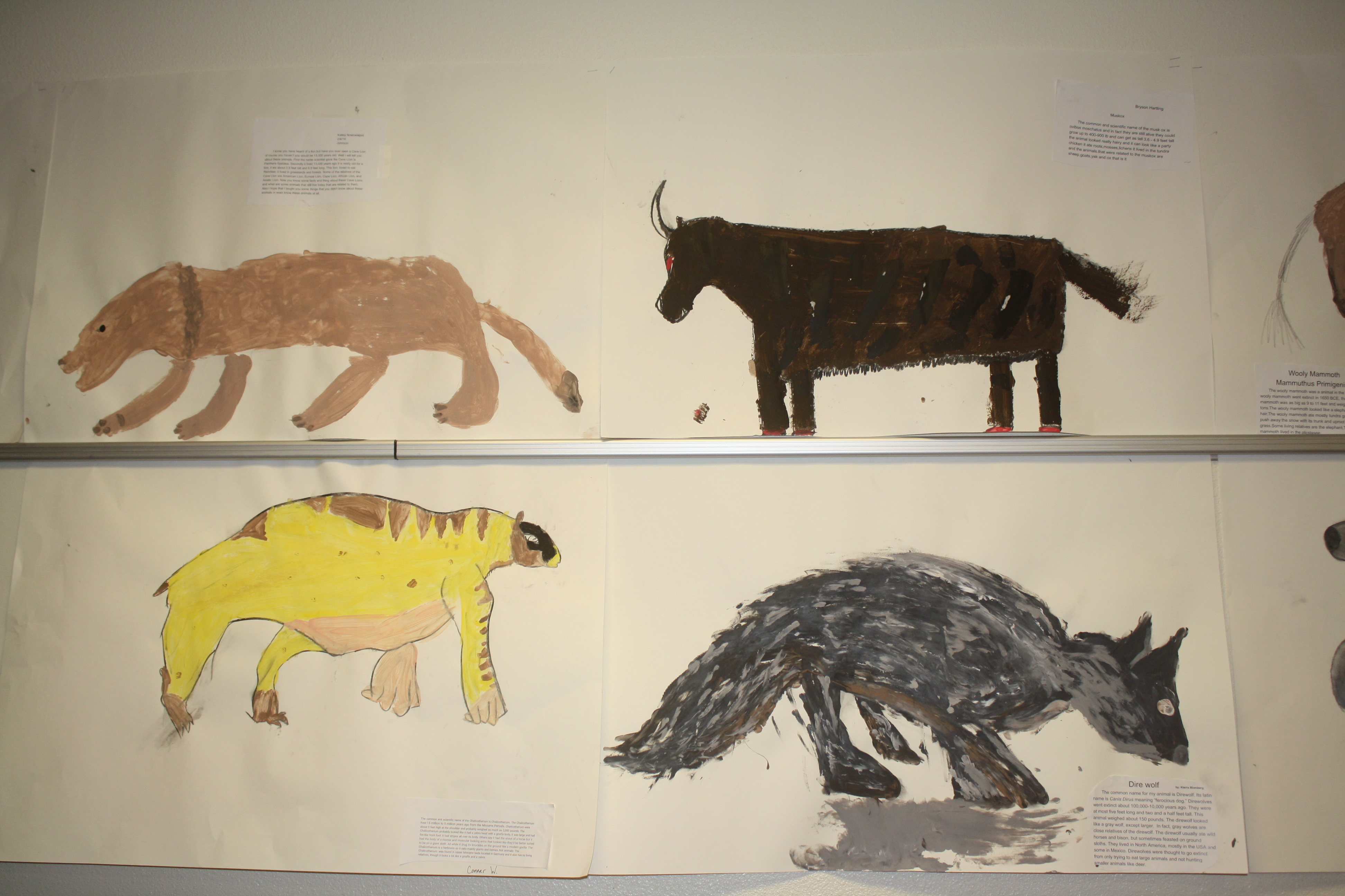 Cave Paintings activity.