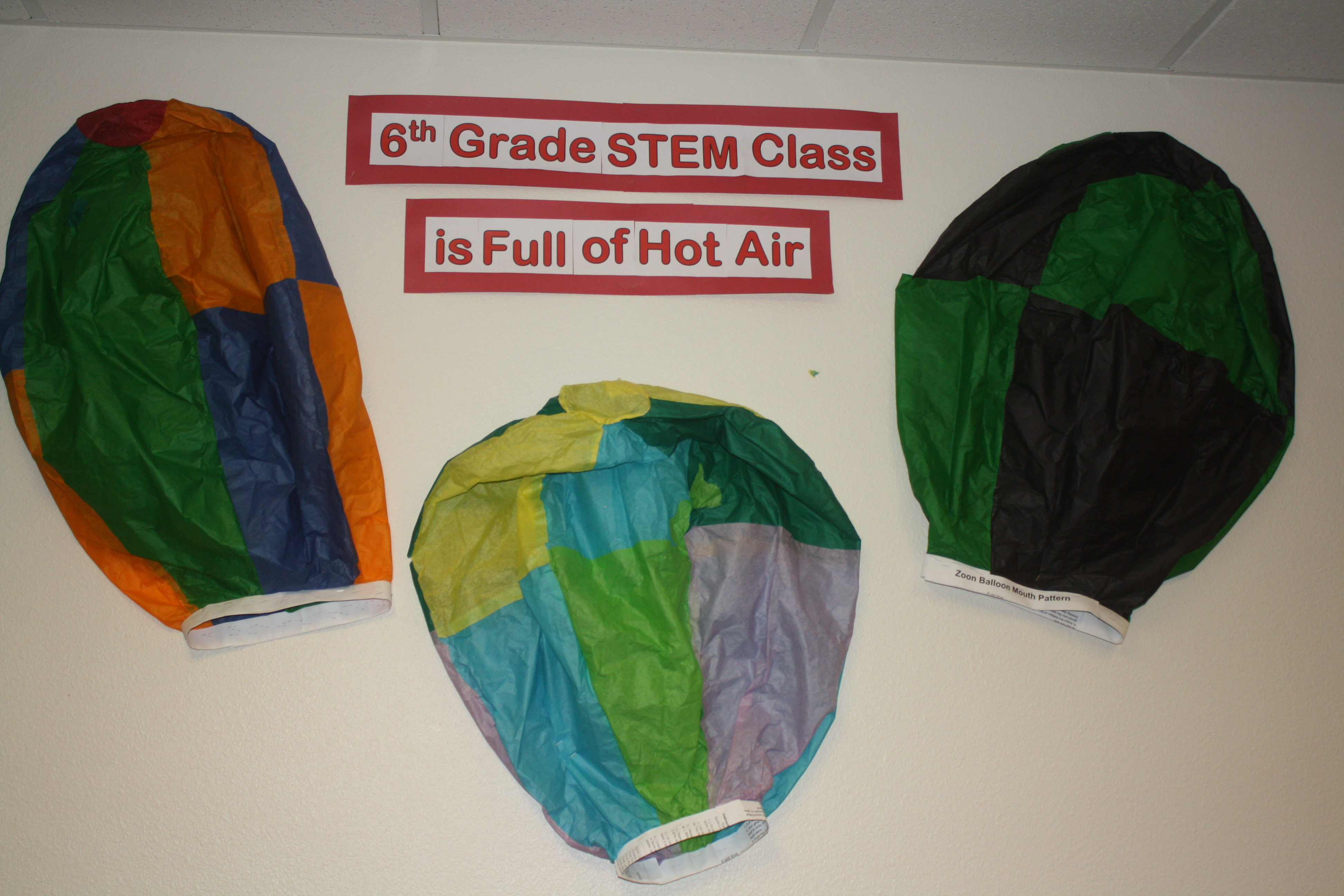 6th Grade STEM Class is Full of Hot Air - activity.
