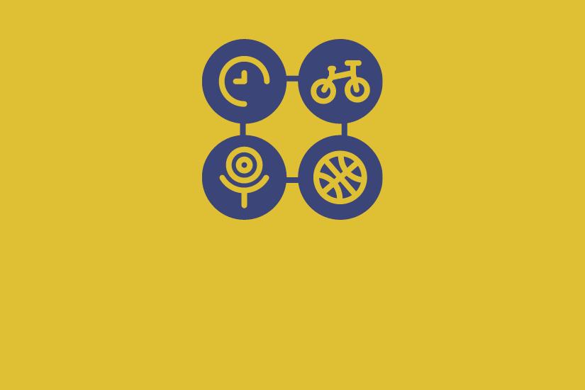 Activities: Clock, Bike, Sports