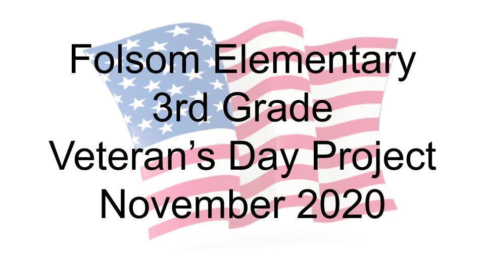 Folsom veteran's day