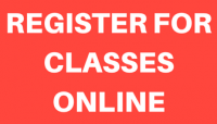 REGISTER FOR CLASSES ONLINE