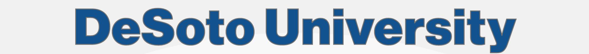 DeSoto University Spelled