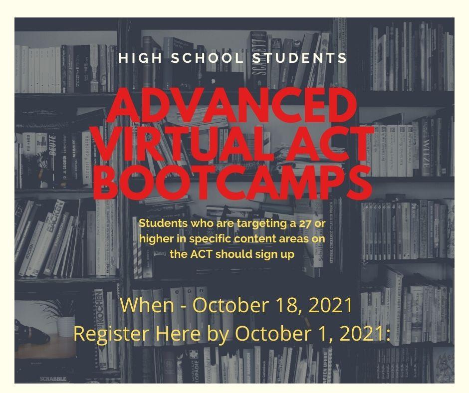 ACT Virtual Bootcamp
