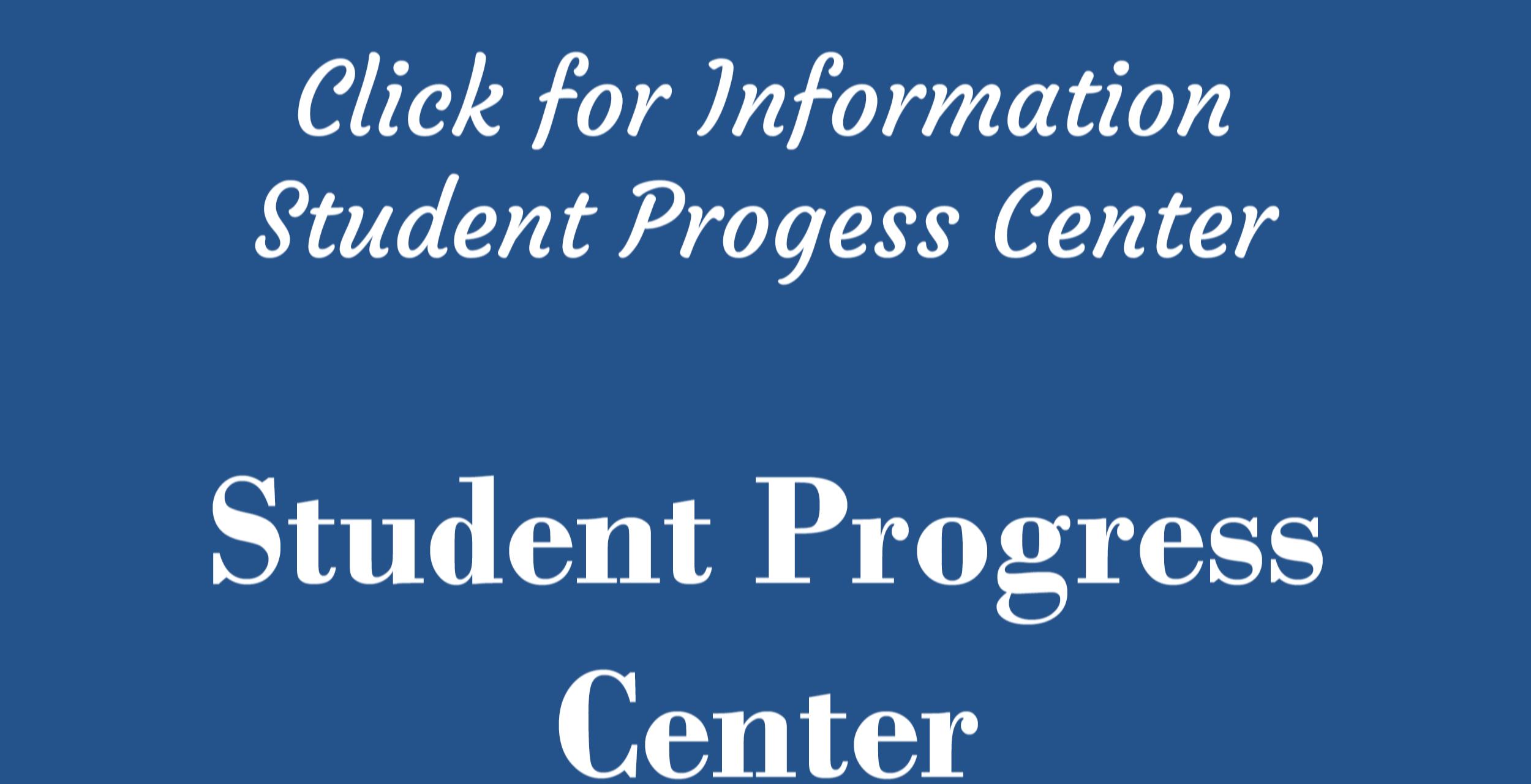 student progress center