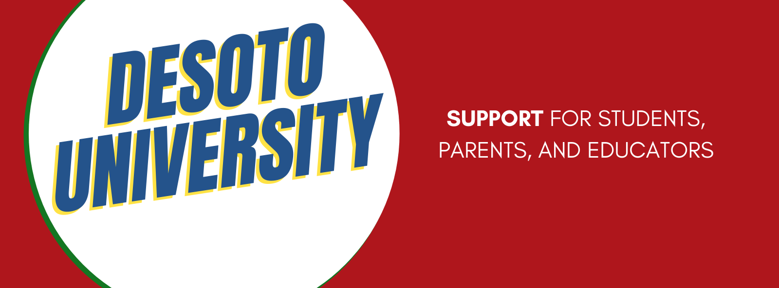 Desoto U - Support for all