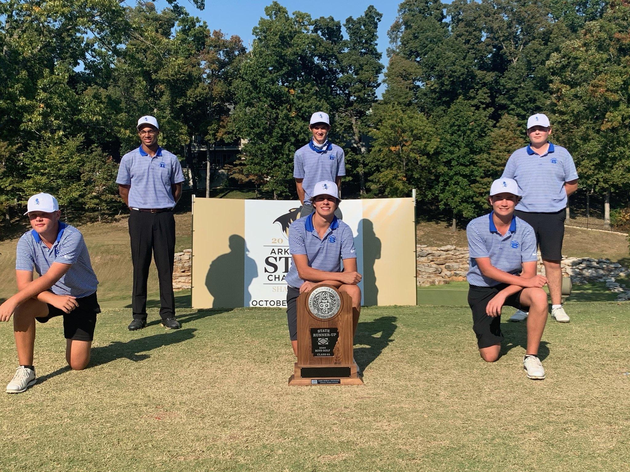 Golf State Runner Up