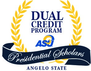 Angelo State University Dual Credit Presidential Scholars