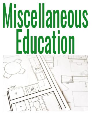 miscellaneous education