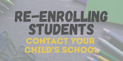 Re-Enrolling Students