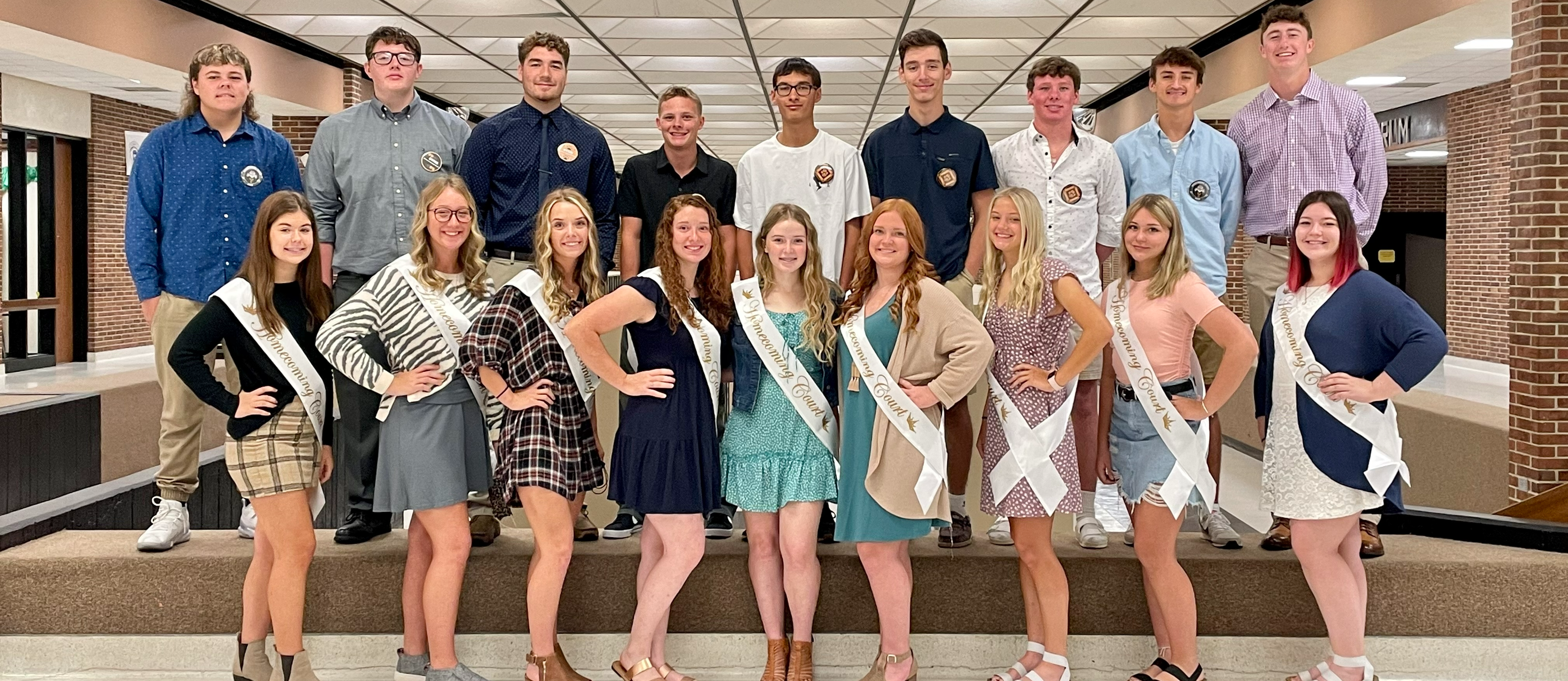 2021 Fall Homecoming Court