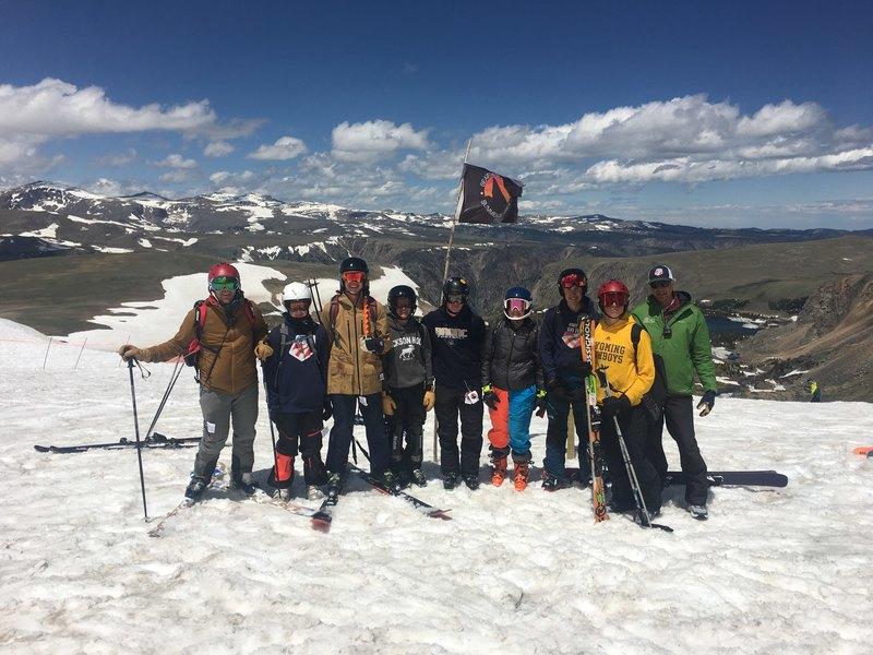 Summer Skiing in the Beartooths