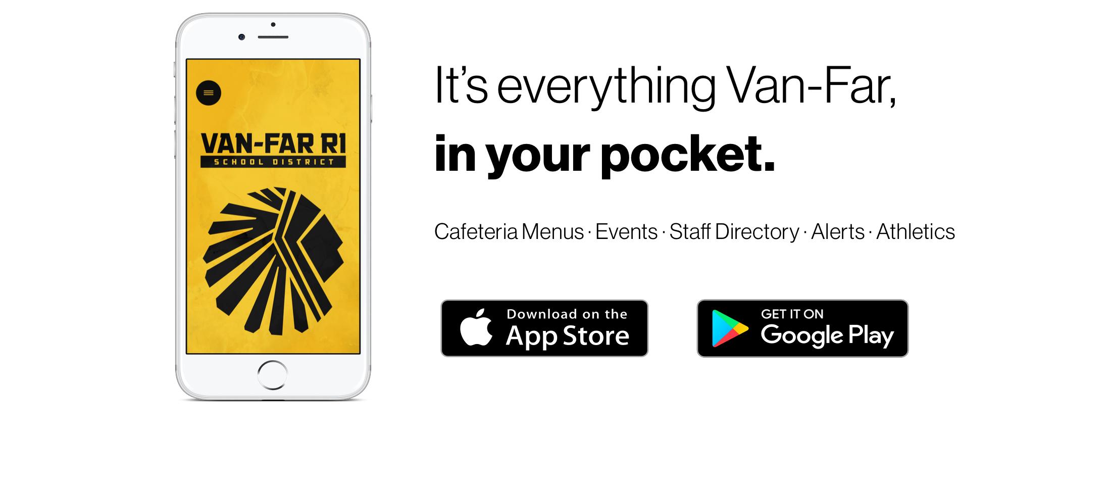 Download the Van-Far App