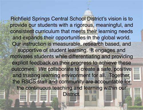 RSCD Vision Statement