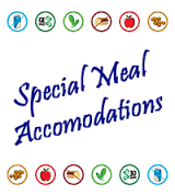 SPECIAL MEAL ACCOMMODATIONS