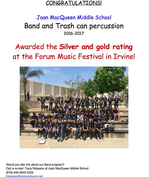 Band and trash