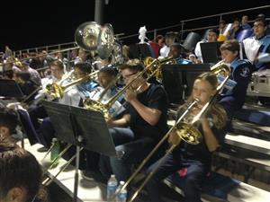 Trombones! Ben and Kylee