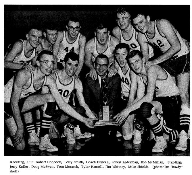 HOF 1962-1963 Boys Basketball Team