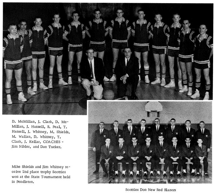 HOF 1963-1964 Boys Basketball Team