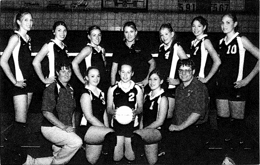 HOF 2004 Weston-McEwen Volleyball