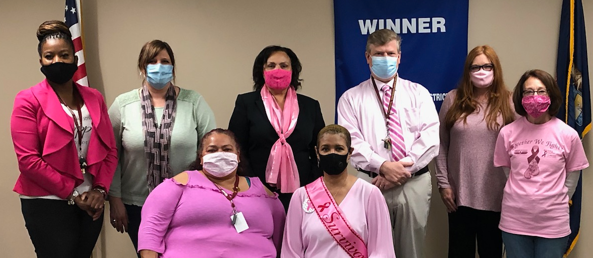 PAE Staff Celebrating Breast Cancer Awareness Month