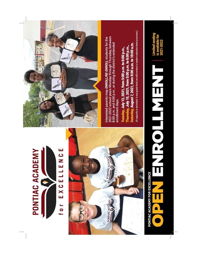 Enrollment Postcard