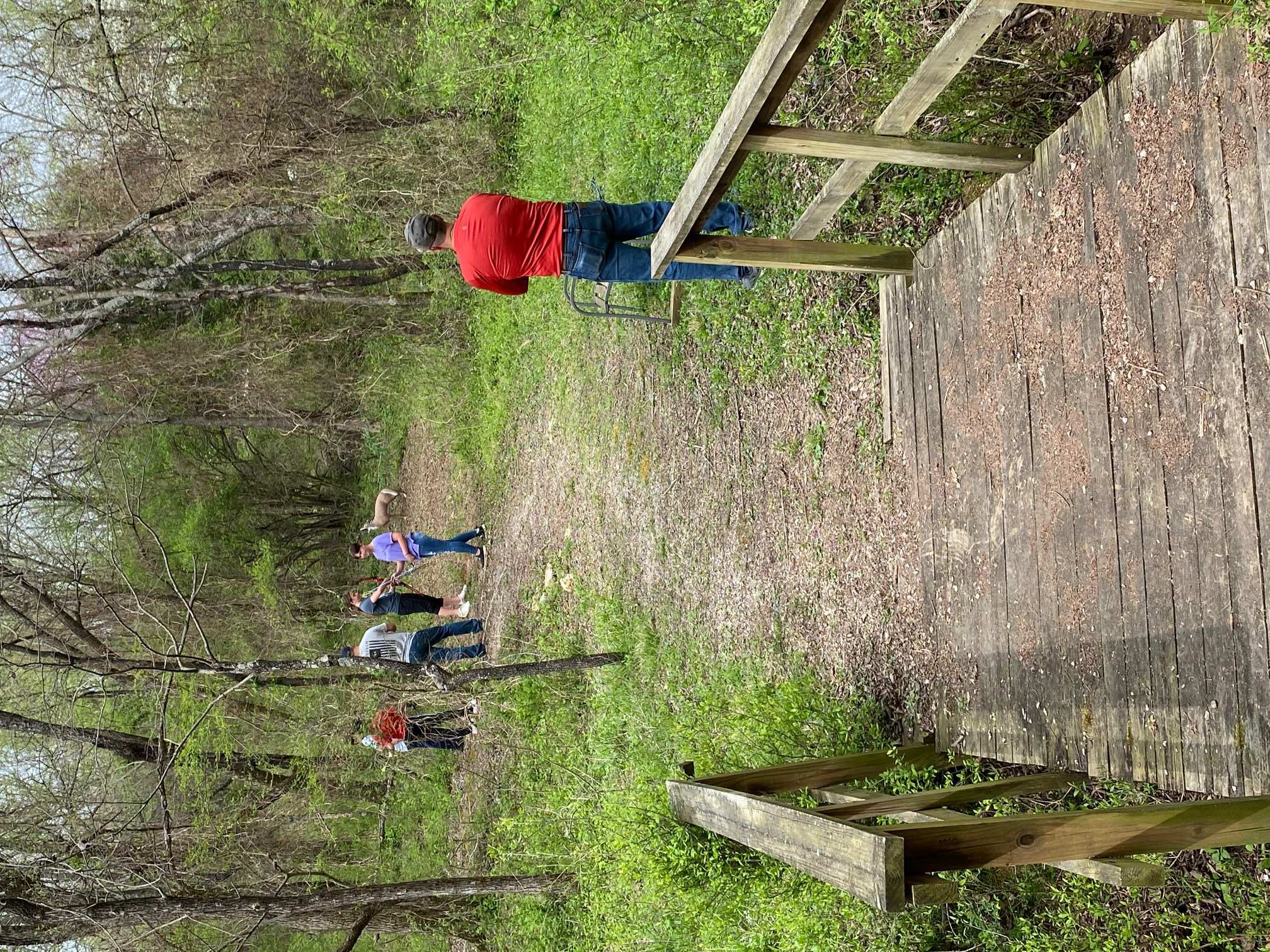 next stop along the nature trail