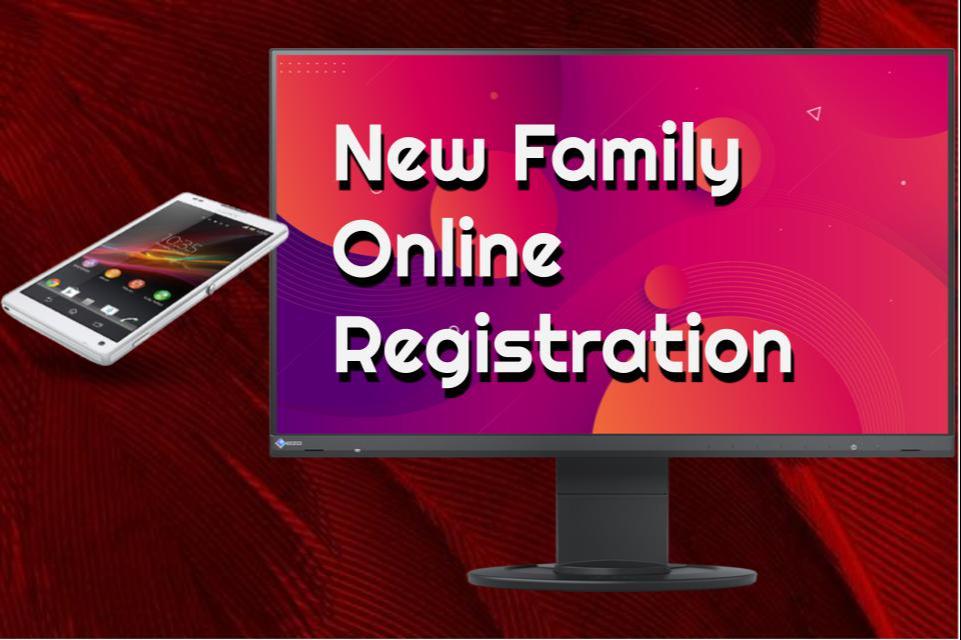 New Family Online Registration