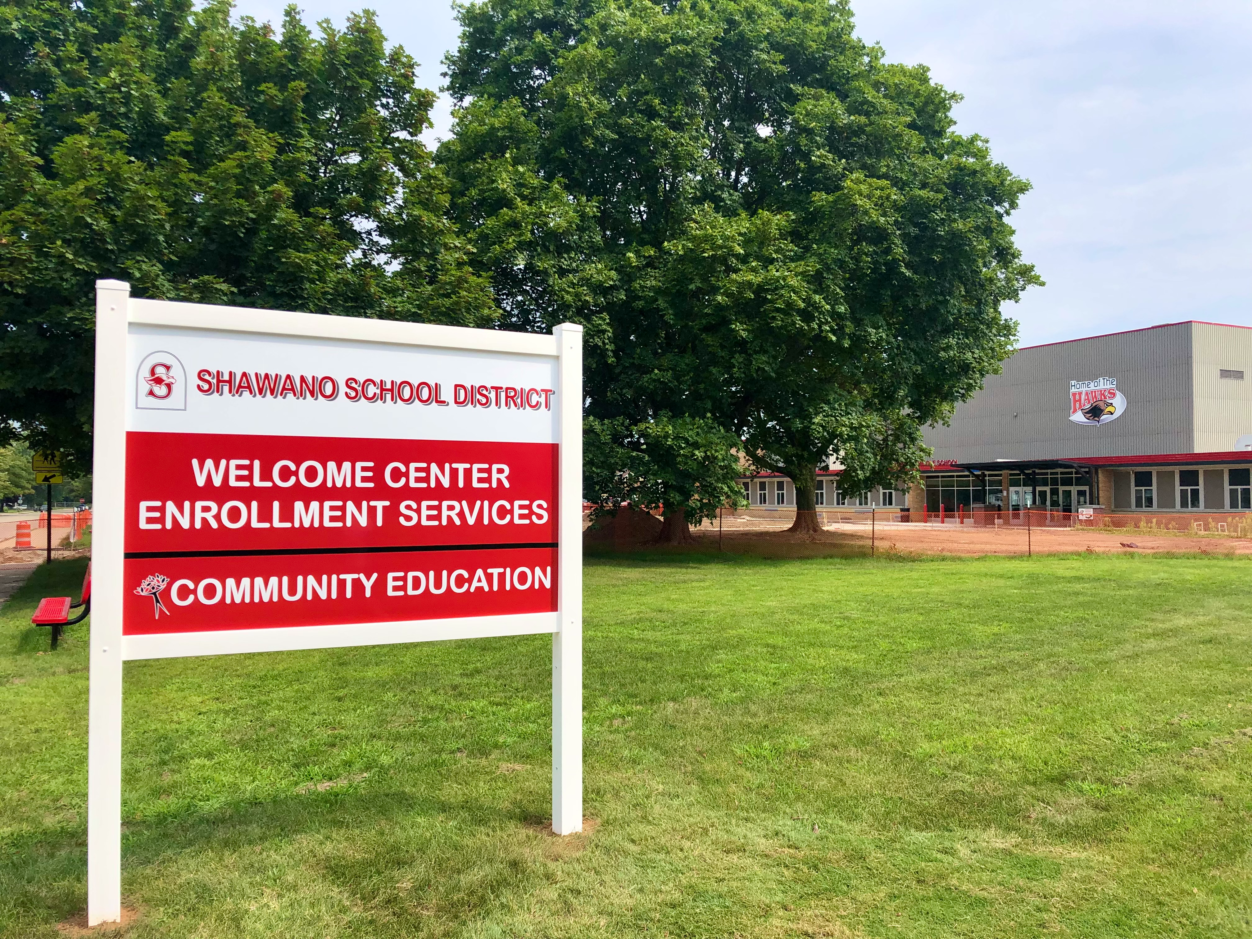 Community Education and Welcome Center Entrance