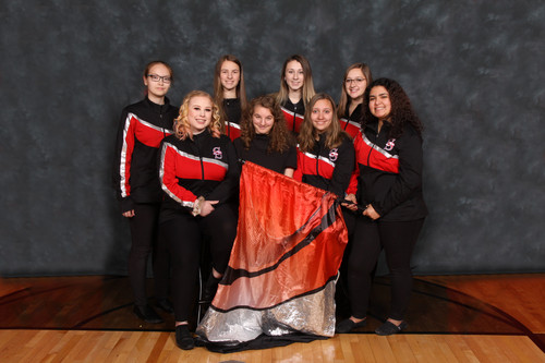 2019-20 Color Guard Team