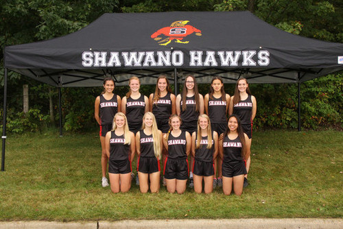 2019 Girls' Cross-Country Team