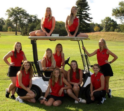 2019 Girls' Golf Team
