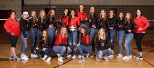 2019 Varsity Volleyball Team