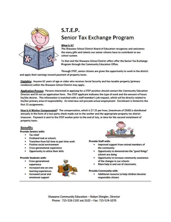 Senior Tax Exchange Program